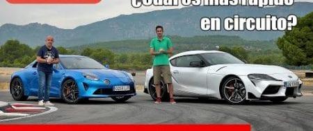 Toyota GR Supra vs Alpine A110 S | Prueba en circuito / Test