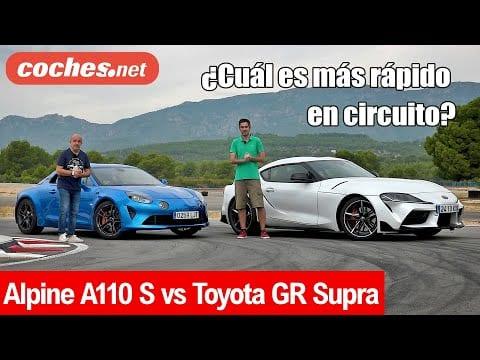 Toyota GR Supra vs Alpine A110 S